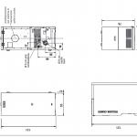 Italiana Camini Termika 2 28 (inclusief kit R)-line_image